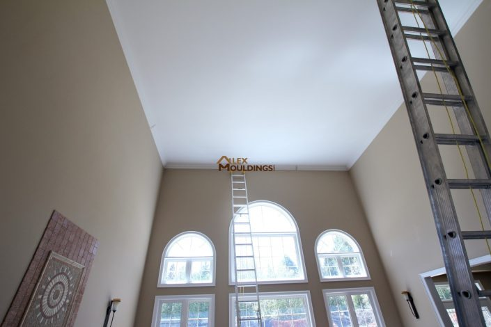 high ceiling installations