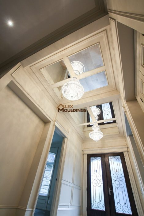 ceiling mirrors and chandelier design