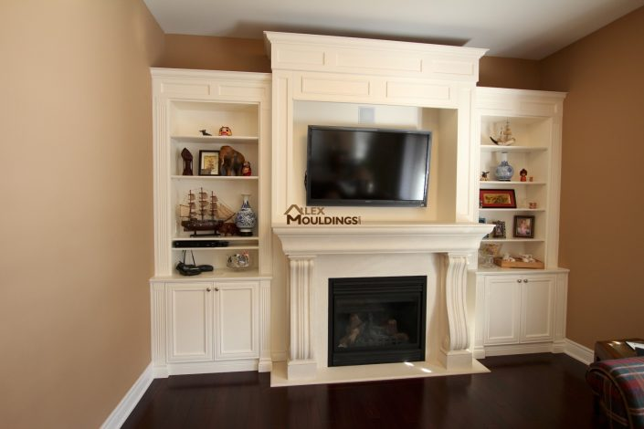 tv room wall unit