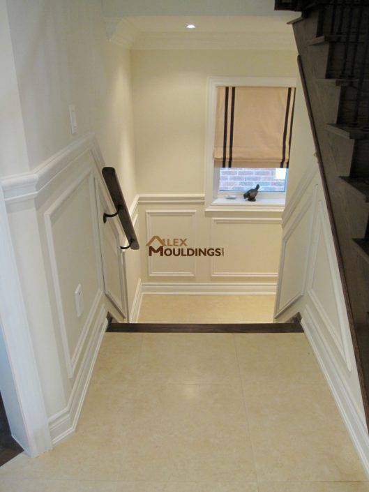 stairs down appliques design
