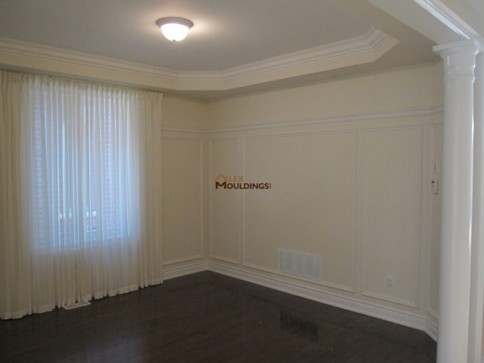 full wall applications and trim
