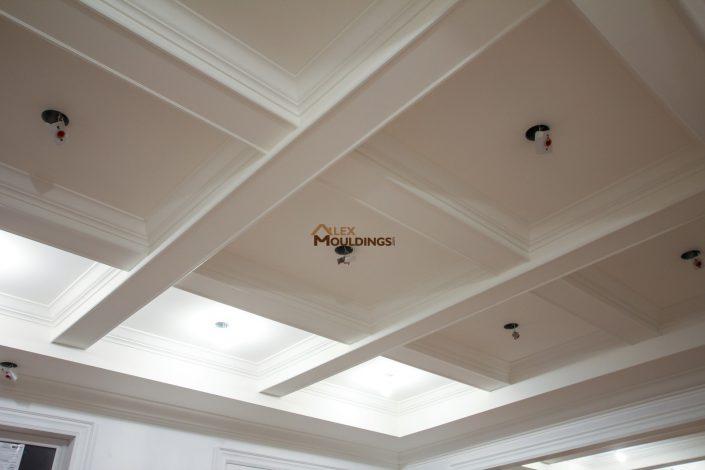 Ceiling beams and mouldings