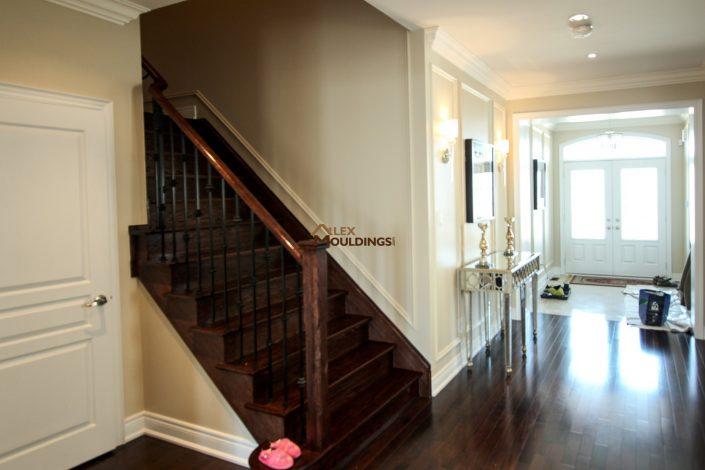 stairway wall frames