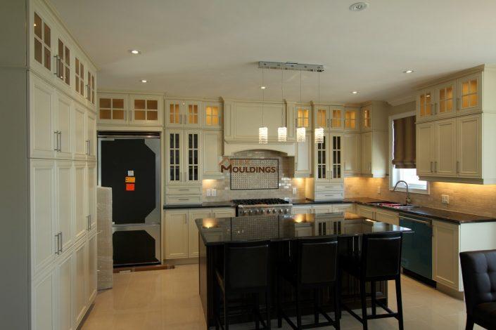 kitchen area pot lights