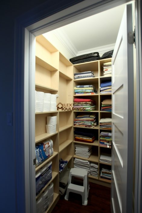 walk in shelving organizer