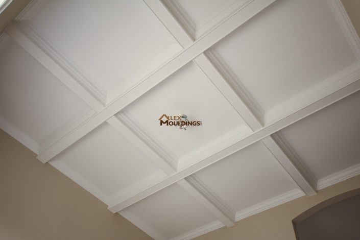 Ceiling boxes hallway