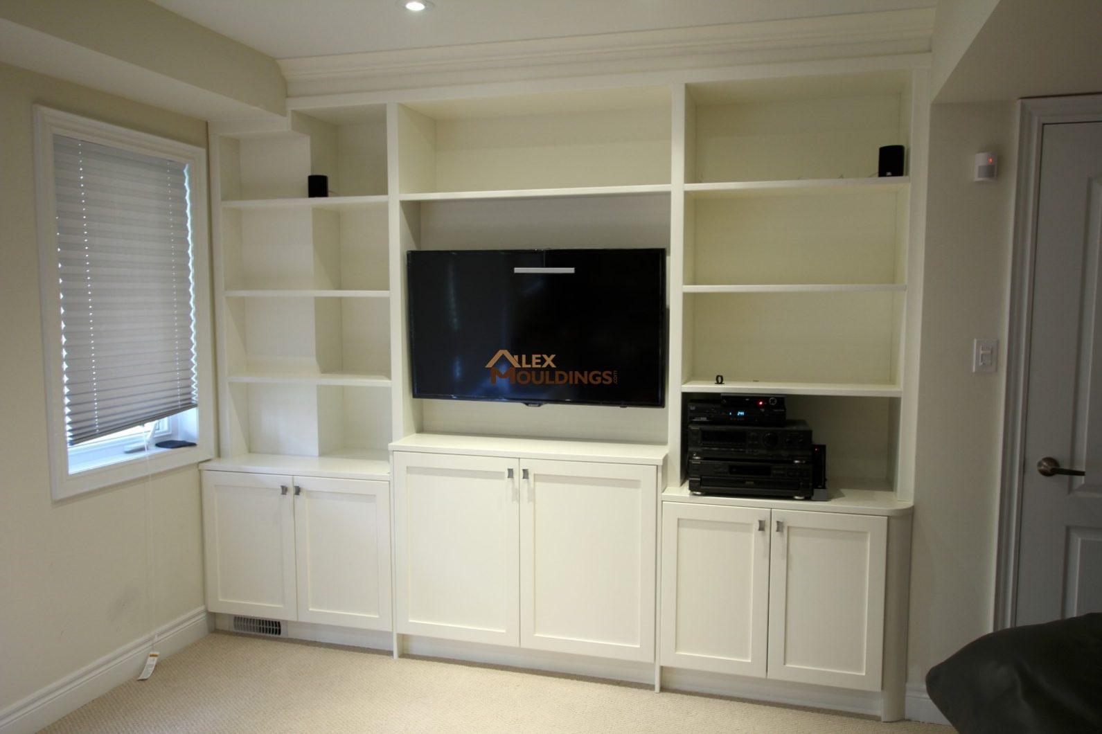 fireplace tv units