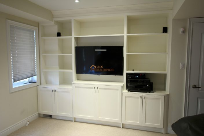 home theater wall unit