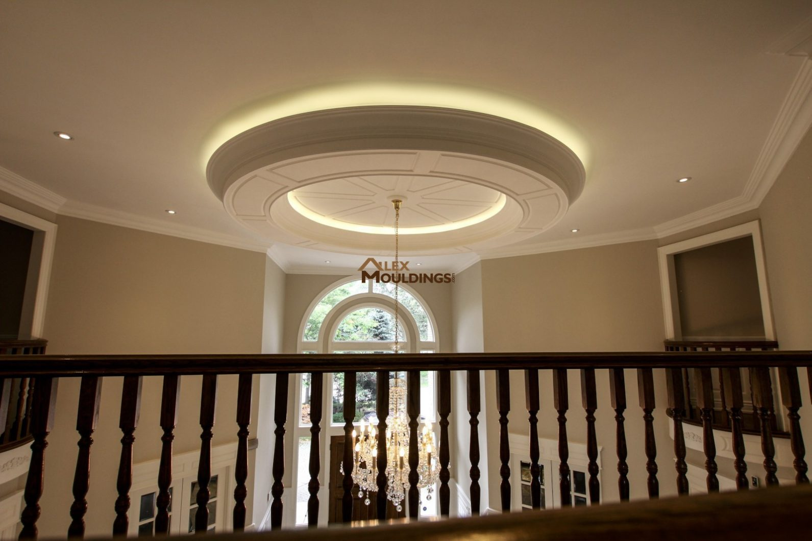 17 Special COFFERED WAFFLE CEILINGS Making House Look So Much Richer