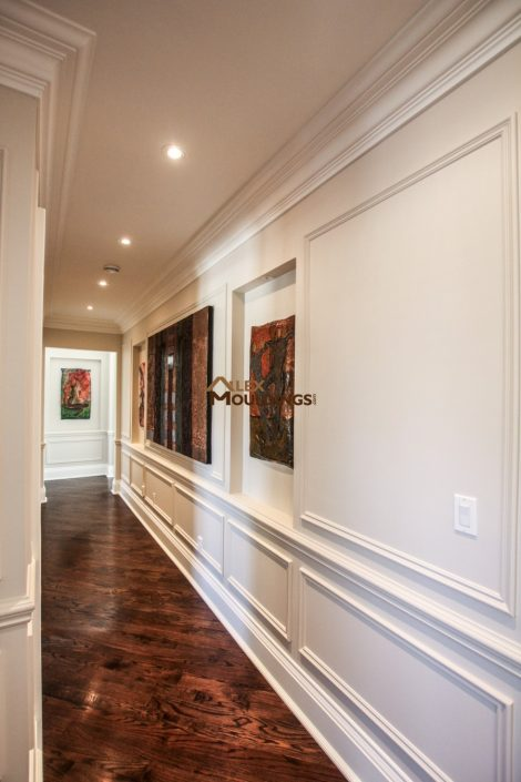 hallway appliques with top frames