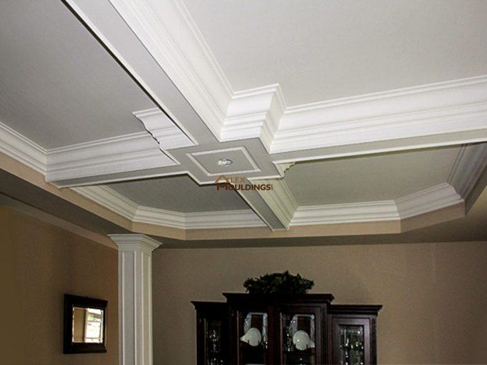 ceiling squares design for living room