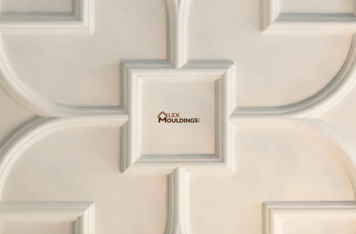 Flower ceiling design pattern