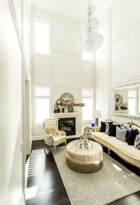 picture frames design in living room