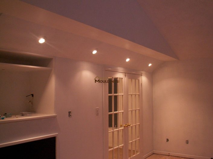 tray ceiling pot lights