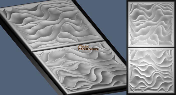 wavy print pattern