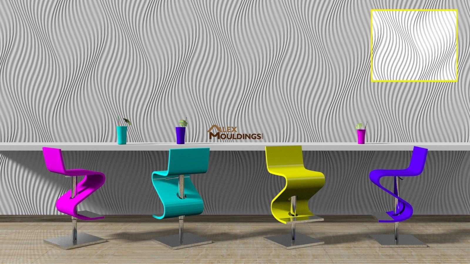 3D sand waves paneling