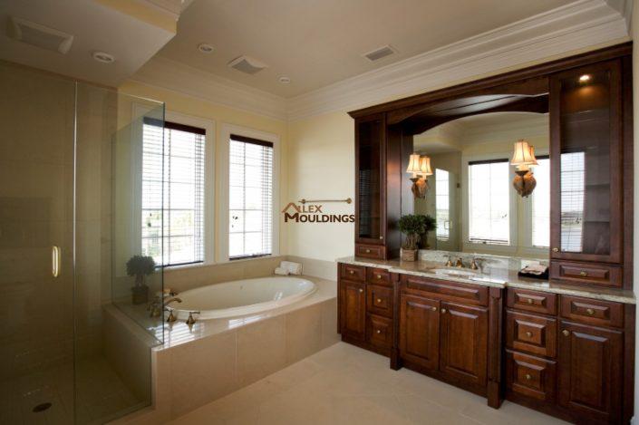 built in wall unit vanity
