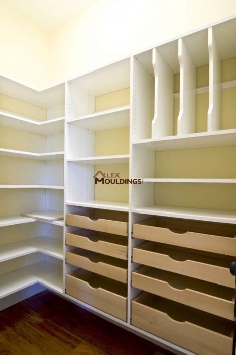 Easy storage closet system