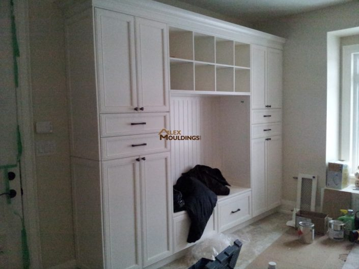 laundry room wall unit design