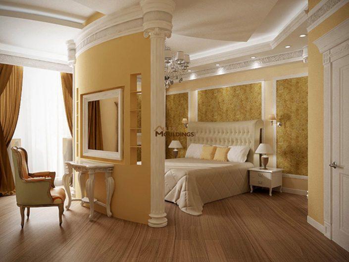 accent spot lights master bedroom