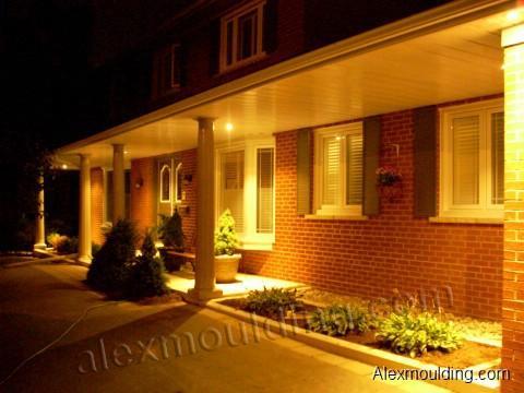Outdoor Pot Lights Outdoor exterior potlight installation toronto led cfl halogen workwithnaturefo