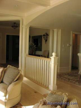 Square Mdf Pillars Installation Toronto Flat Panel Columns