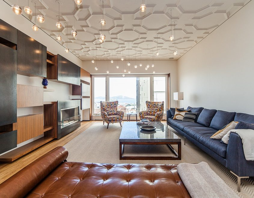21 incredible detailed ceiling design ideas from experts for Condo ceiling design