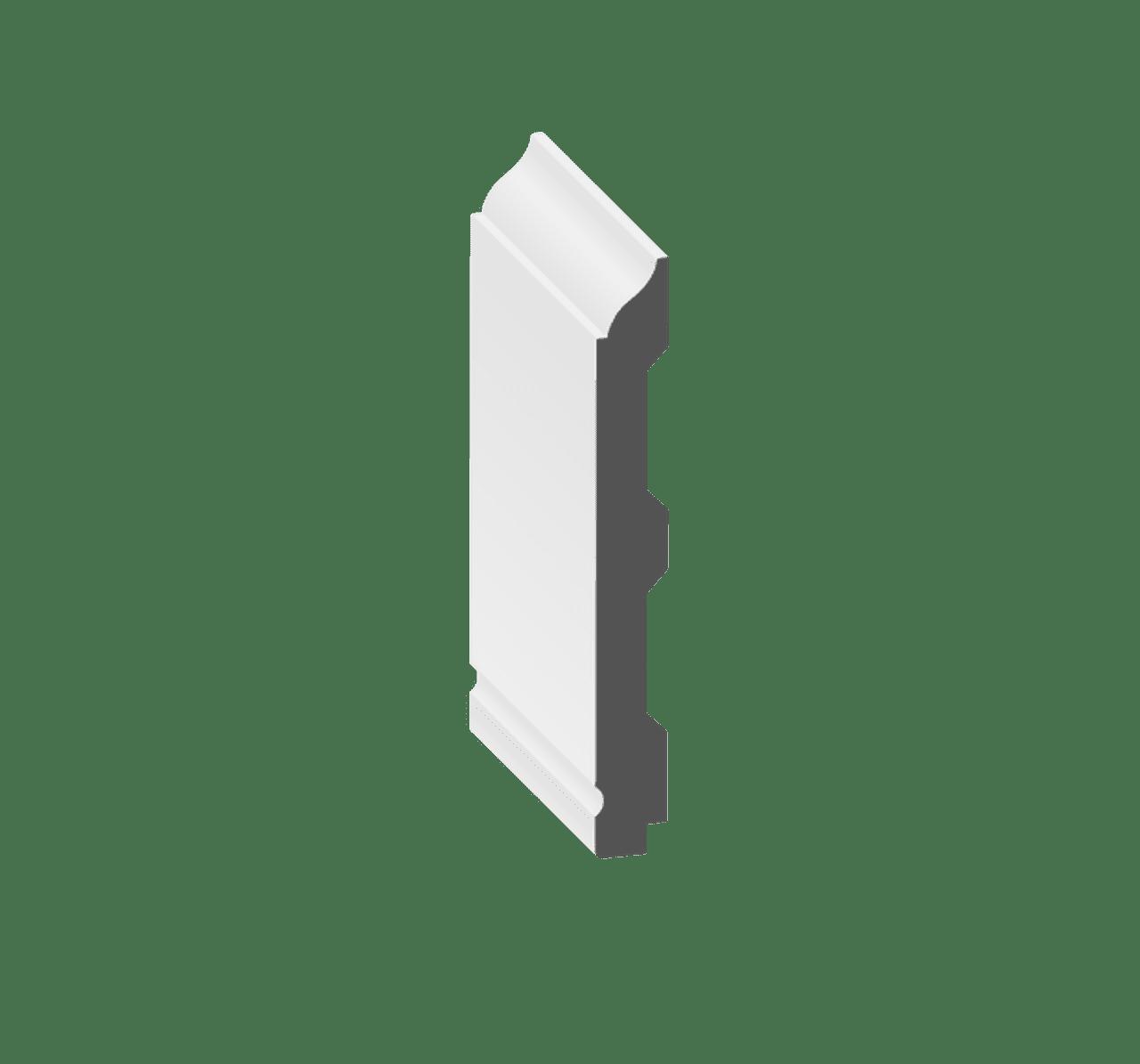 """5"""" Wall Batten Baseboard: 5"""" x 5/8"""" x 16'"""