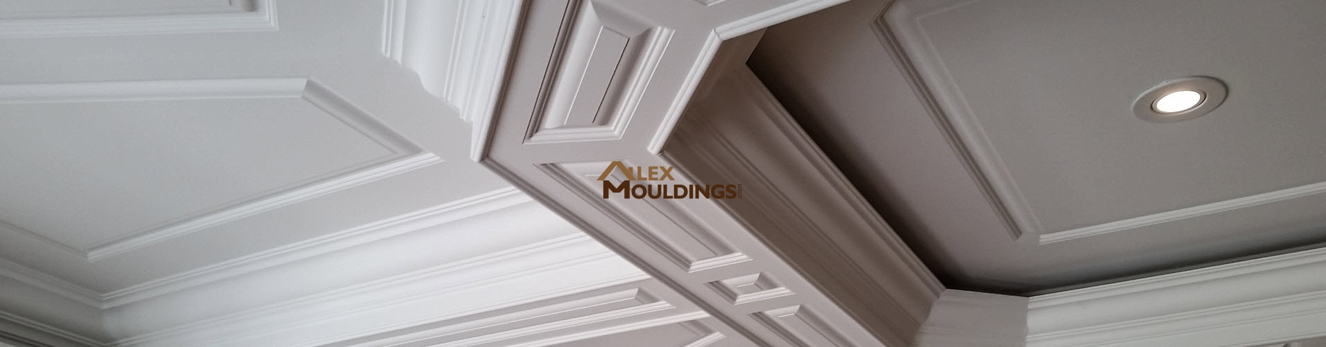 Raised Panel Coffered Ceiling