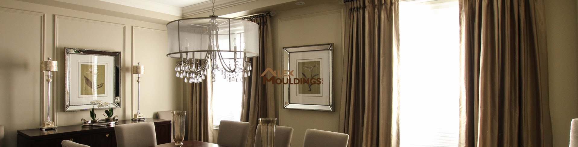 crown moulding on cabinets