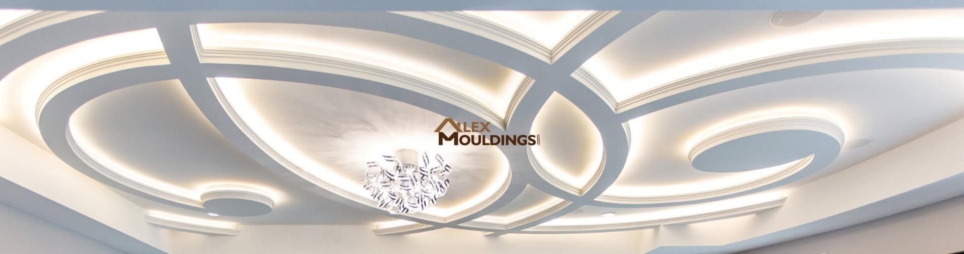 wavy coffer ceiling