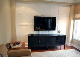 accent wall flat panel