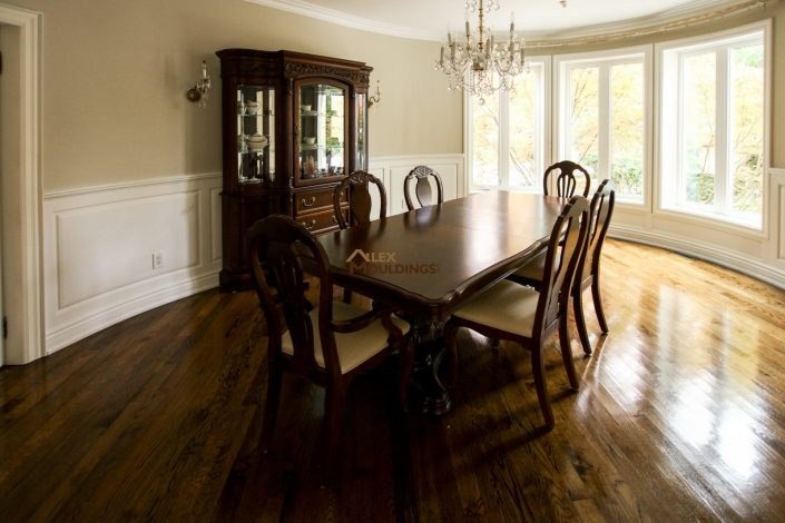 dining room wainscoting combination