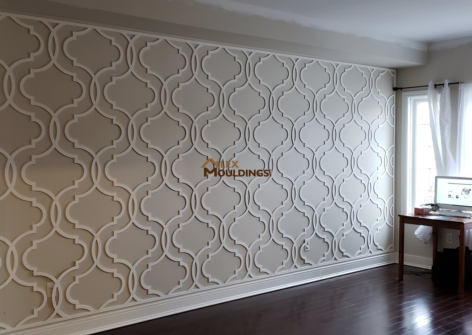 Decorative 3d Wall Panels Custom Millwork Wainscot Paneling Coffered Waffle Ceiling