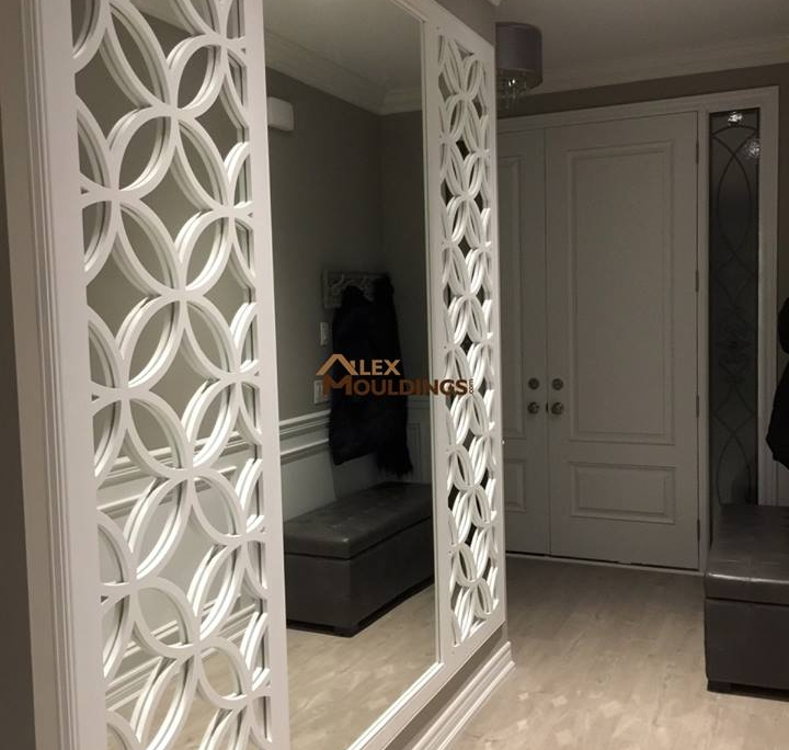 Unique Millwork Wall Covering And: DECORATIVE 3D WALL PANELS - Custom Millwork